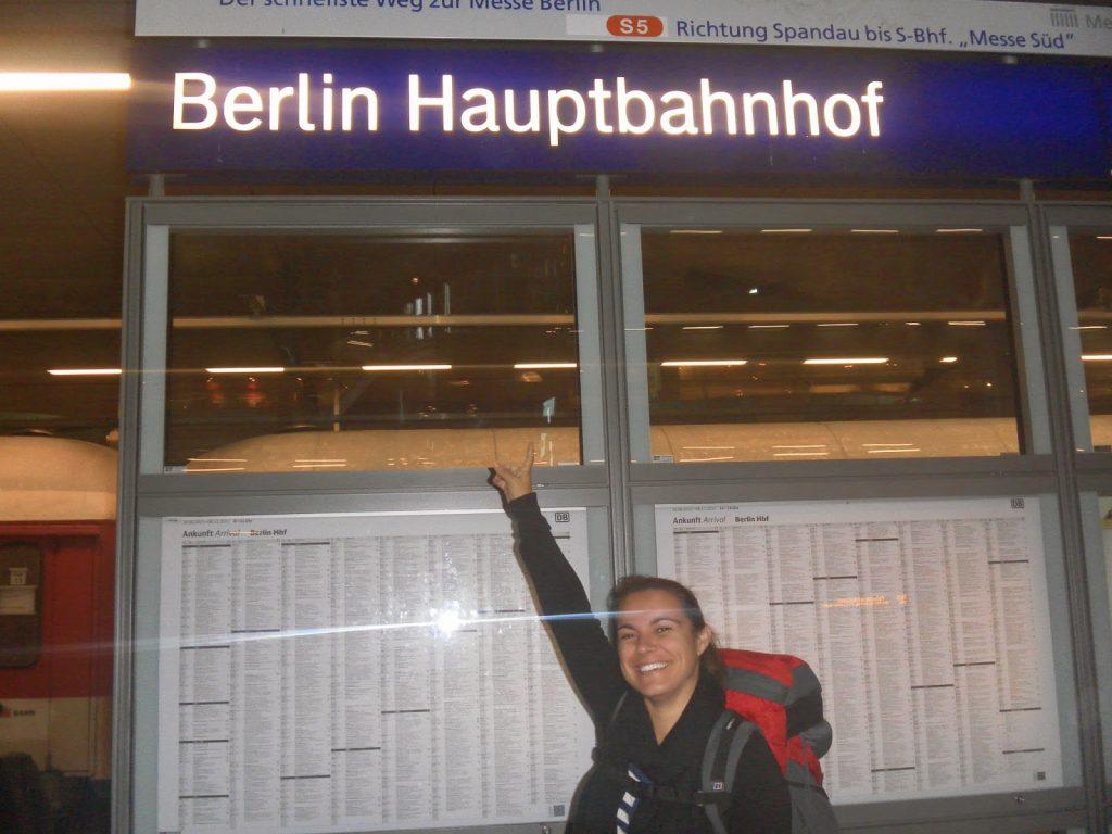 Estacion de tren Berlin