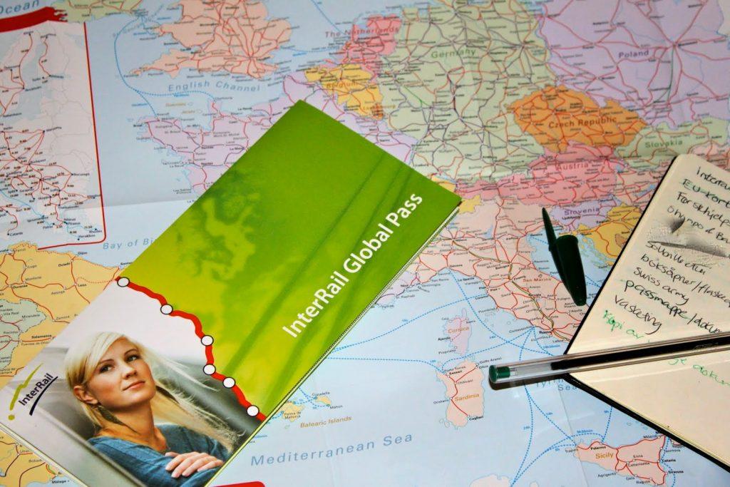 Planificar Interrail Europa
