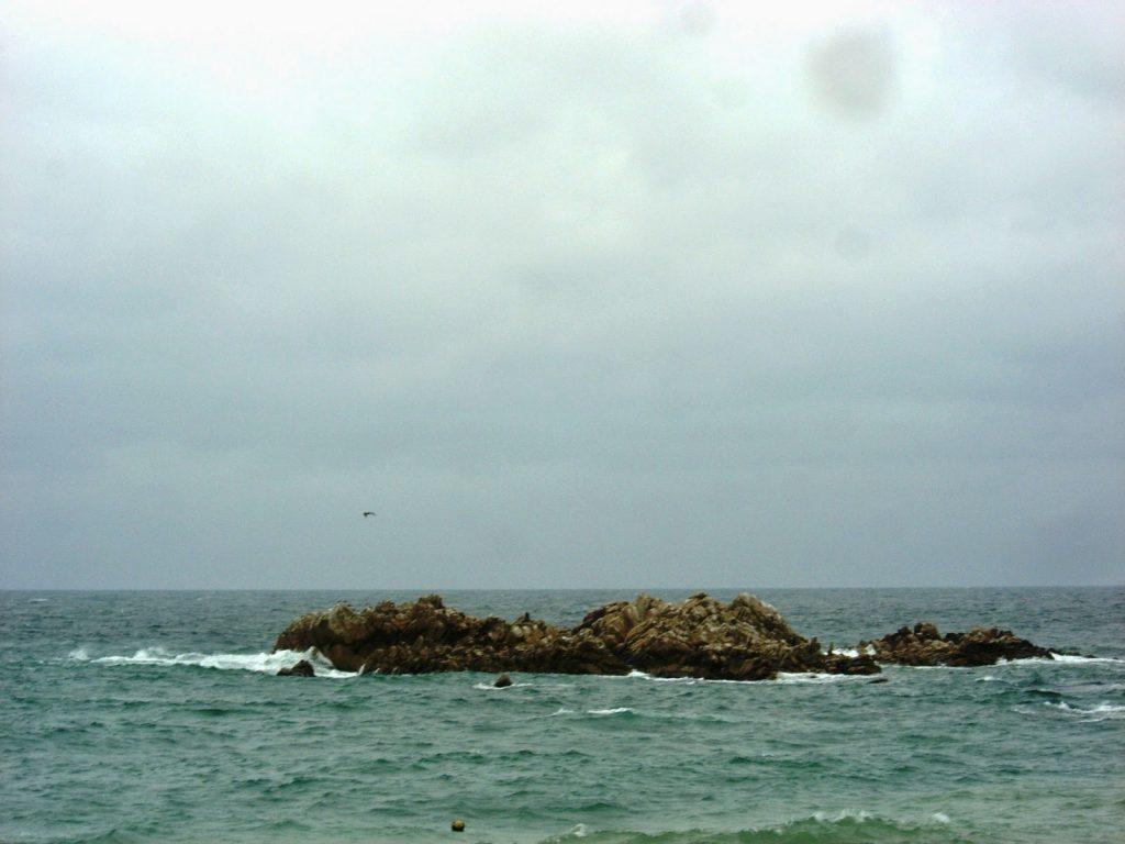 Tumba bajo el mar del rey Munmu