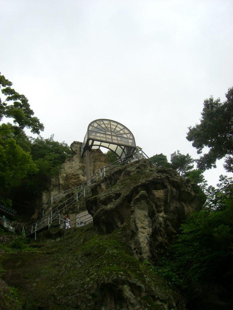Templo de Golgulsa escaleras