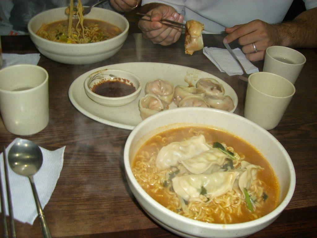 comida corea del sur