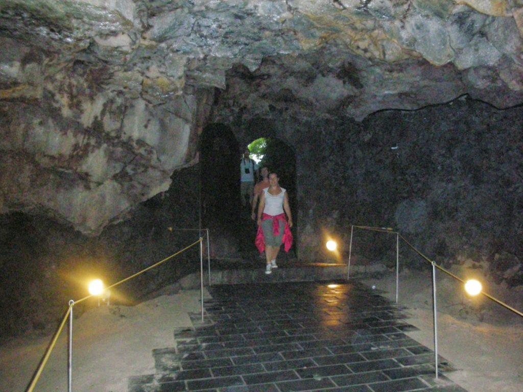 Isla de Jeju cueva