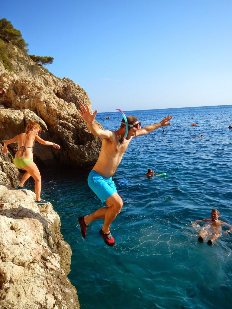 Pesquera Xabia salto