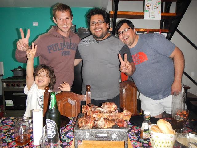 asado cordero patagónico