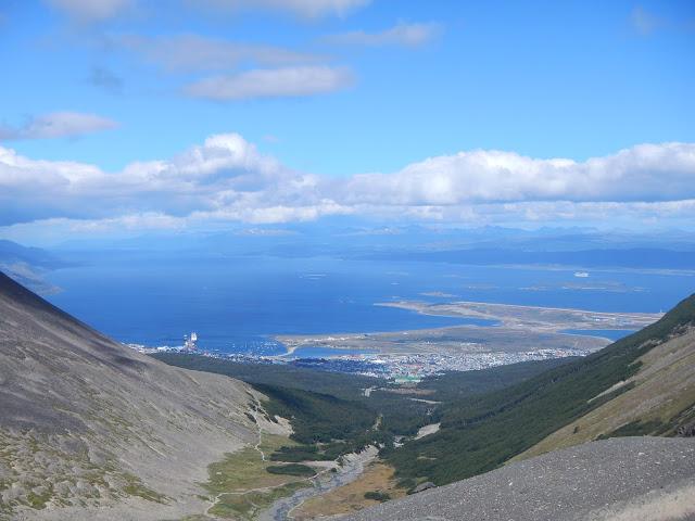 vistas ushuaia glaciar martial