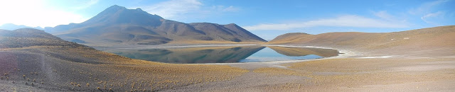 panorámica lagunas desierto atacama