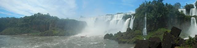 Panoramica cataratas iguazu