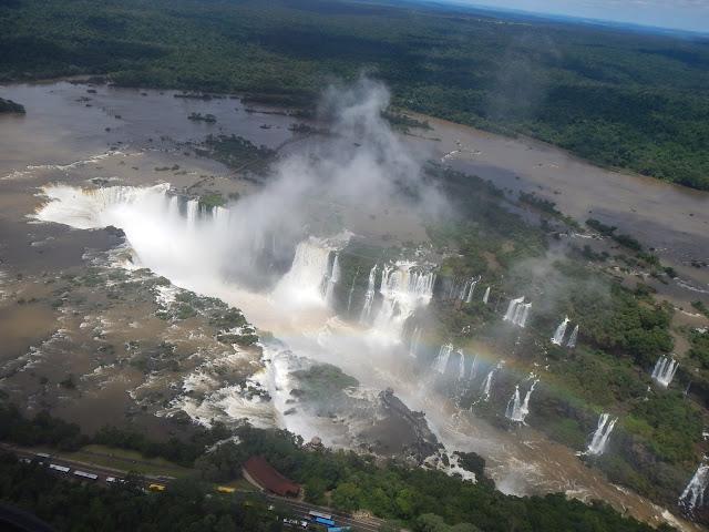 Cataratas de Iguazú en helicóptero, Brasil