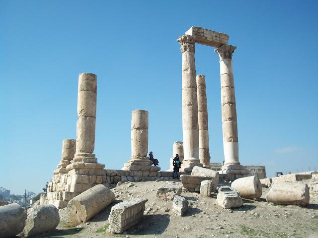 Templo de hércules Amman