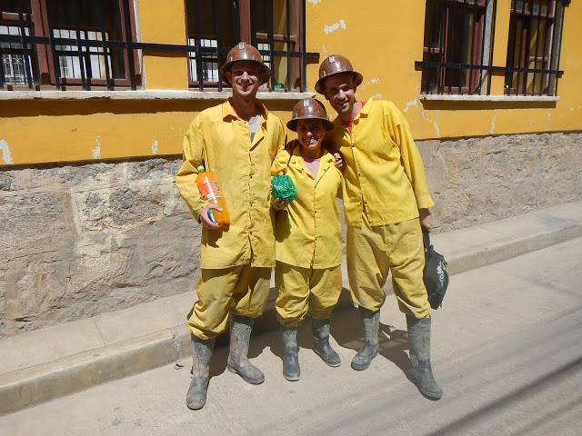 Minas de plata Potosí, Bolivia