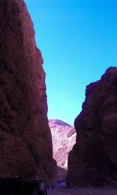 Valle del todra cañón