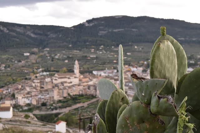 vistas Bocairent desde ermita
