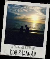 10 cosas que hacer en Koh Phangan