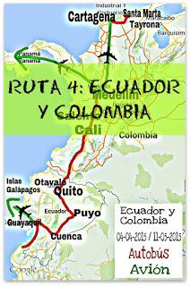 ECUADOR Y COLOMBIA