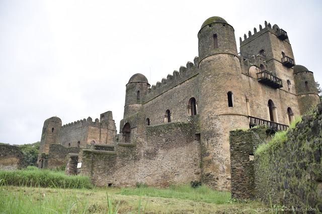 castillos de Gondar Gonder Etiopia