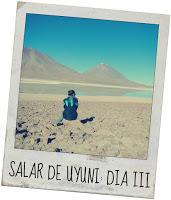 Salar de Uyuni día 3